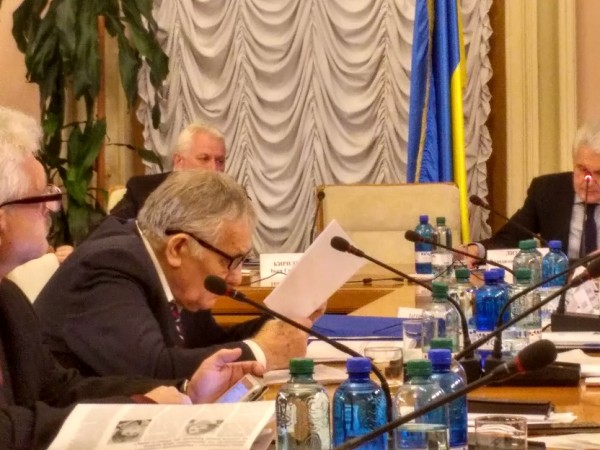 Члени Президії УТА Е. Афонін і М. Шевченко взяли участь у засідання комітету Верховної Ради України з питань науки і освіти.